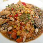 Wersja potrawy z ryżem dzikim