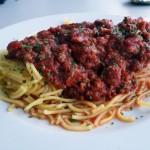 Bezglutenowe spaghetti bolognese
