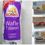 Zamienniki chleba dostępne w większości sklepów spożywczych i sieci Rossmann