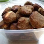 Ciasteczka nadają się idealnie na przekąskę w pracy i podczas podróży