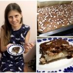 Bezglutenowe bounty kokosowo-jaglane nie wymaga pieczenia - to idealne ciasto nawet dla początkujących kucharzy :)