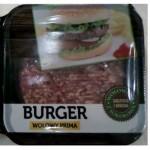 Mięso mielone na burgery zakupione w Biedronce
