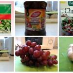 Składniki użyte do przygotowania sałatki
