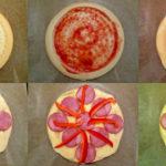 Etapy przygotowywania pizzy