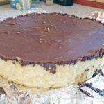 Oto nasz gotowy sernik/tort bez glutenu, mleka i jajek