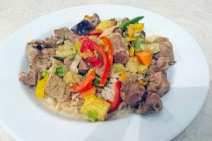 Bezglutenowe curry z kurczakiem